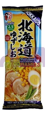 YUZUSHIO YUZU FLA. RAMEN 日本产 北海道 柚子醇厚拉面(6OZ)