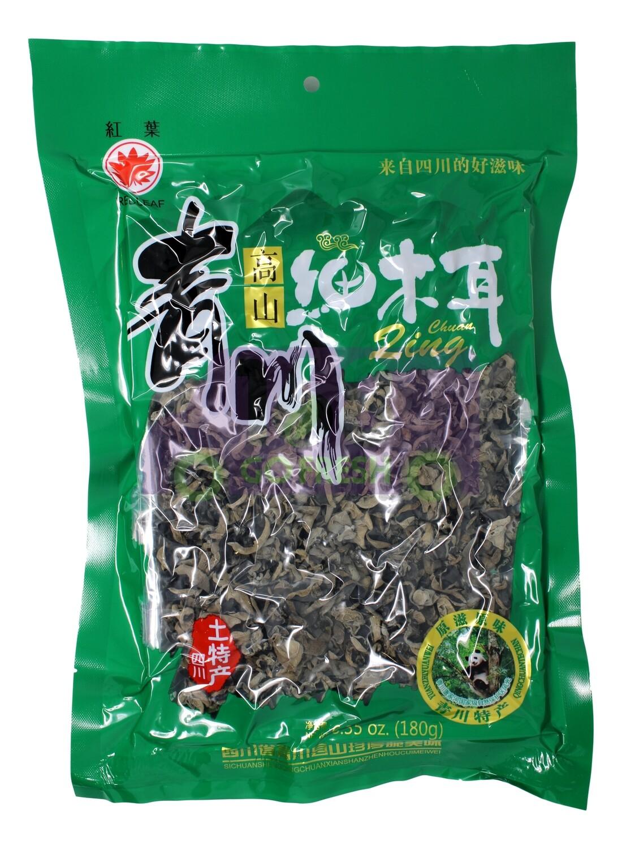 Thin Black Fungus 红叶 青川 高山细木耳(180G)