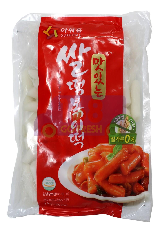Korean Style Rice Cake 韩国  JAYONE 年糕条(1KG)