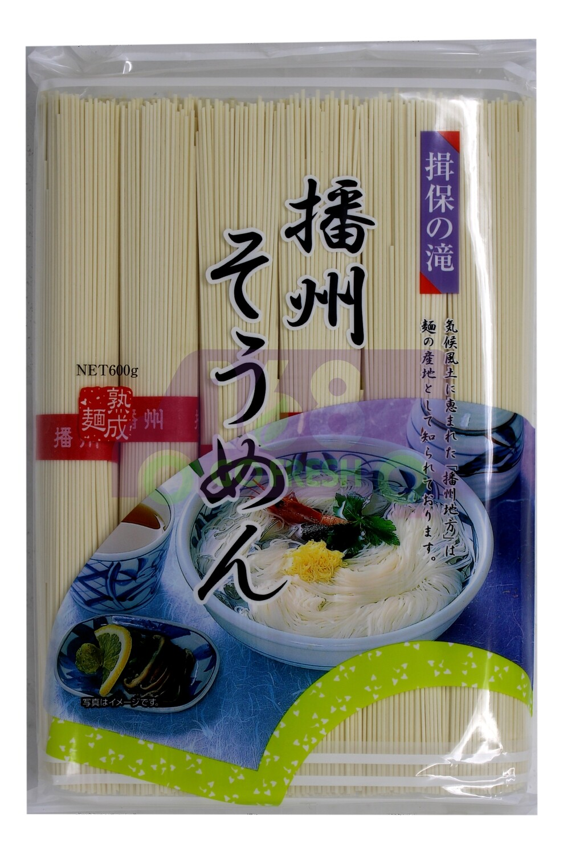 Dried Noodle/ IBONOTAKI BANSHU SOMEN 日本产 播州熟成面(绿)(600G)