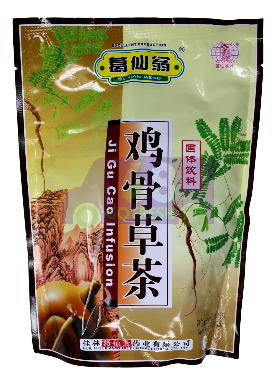 GE XIAN WENG CHINESE TEA 葛仙翁 鸡骨草茶(10G*16)
