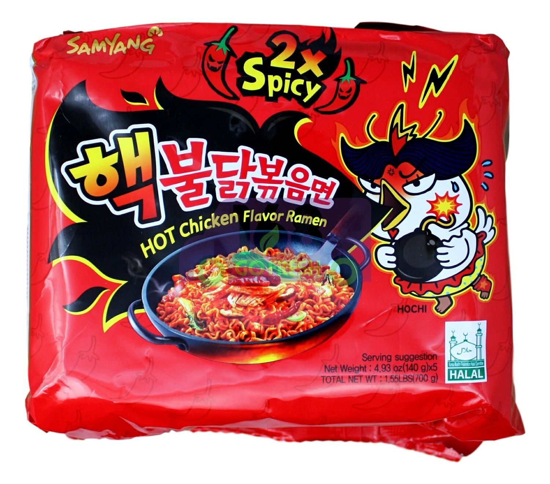 SAMYANG STIR-FRIED NOODLE 2X SPICY 韩国 三养 2倍辣鸡拌面(700G)