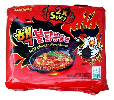 SAMYANG STIR-FRIED NOODLE 2X SPICY 韩国 三养 2倍辣鸡拌面(700G)