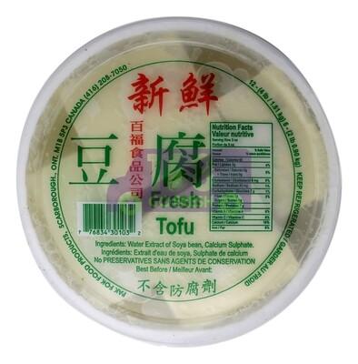 FRESH TOFU (L) 桶装新鲜豆腐(大)(牌子百福或瑞丰)