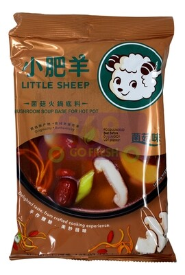 Little Sheep Hot Pot Base TOMATO SOUP 小肥羊 菌菇火锅底料(140G)