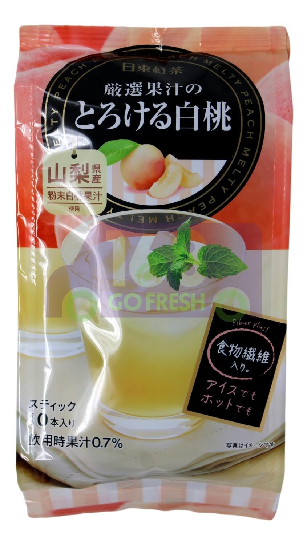 NITTO PEACH TEA 日产 日东红茶 蜜桃果汁茶(10条装)