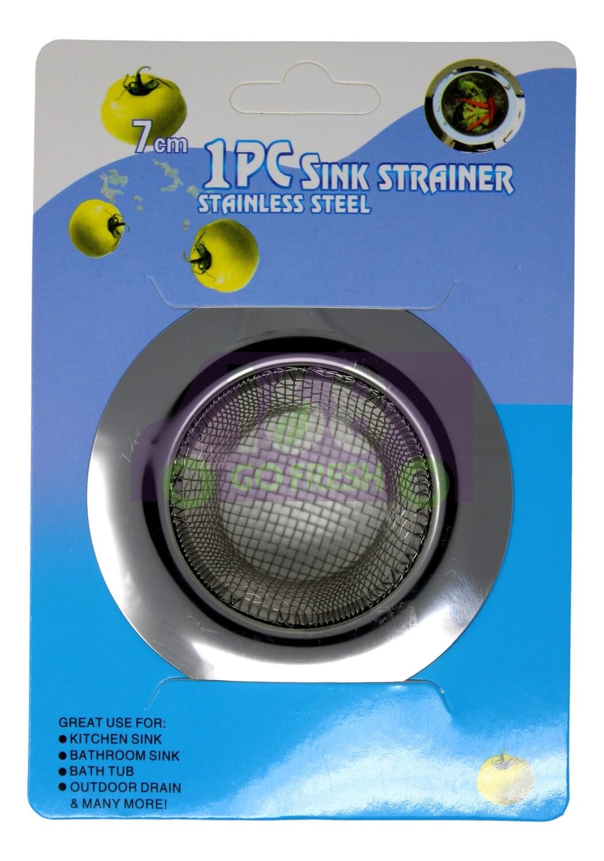 JUNK SINK  STRAINER (7CM) 不锈钢大号宽边过滤网7cm