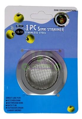 JUNK SINK  STRAINER (5.5CM) 不锈钢大号宽边过滤网