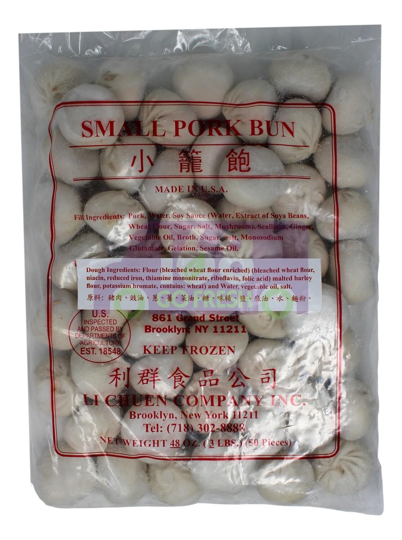 LI CHUEN -  SMALL PORK BUN 利群 小笼包(48OZ)