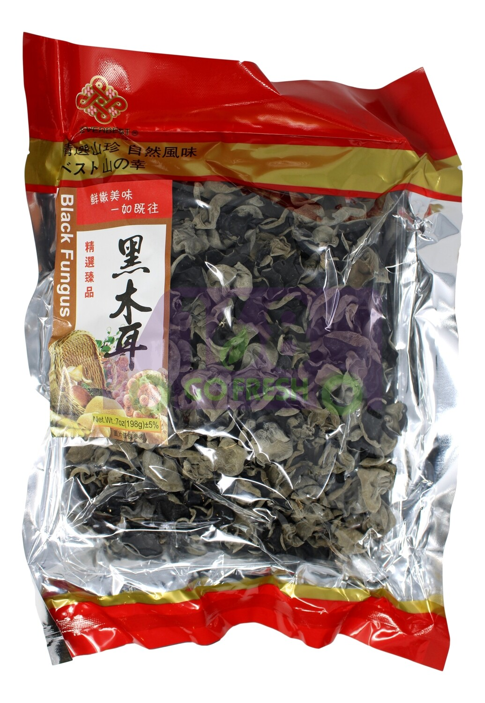 BLACK FUNGUS  南北食品  精选黑木(196G)