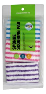 Sponge Scouring Pad 抹布 3张装