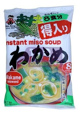 MIKO INSTANT MISO SOUP 日本 miko 即食味增紫菜汤包(6.21OZG)
