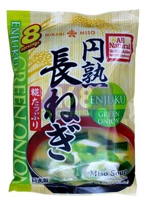 ENJUKI HAKARIMISO MISO SOUP GREEN ONION 日本 即食味增油青葱汤包(5.4OZ)