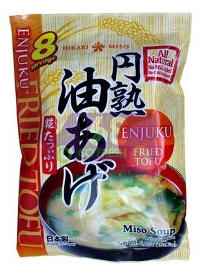 ENJUKI HAKARIMISO MISO SOUP FRIED TOFU 日本 即食味增油豆腐汤包(5.4OZ)