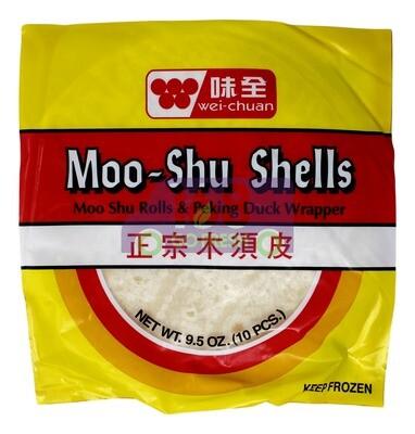 WEI-CHUAN -  MOO SHU SHELLS 味全 正宗木须皮(9.5OZ)