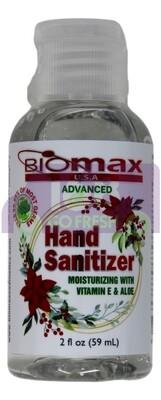 Hand Sanitizer Moisturizing W/ Ve & Aloe 59ml BIOMAX 70%酒精浓度免洗洗手液-含维E&芦荟精华护手配方59ml