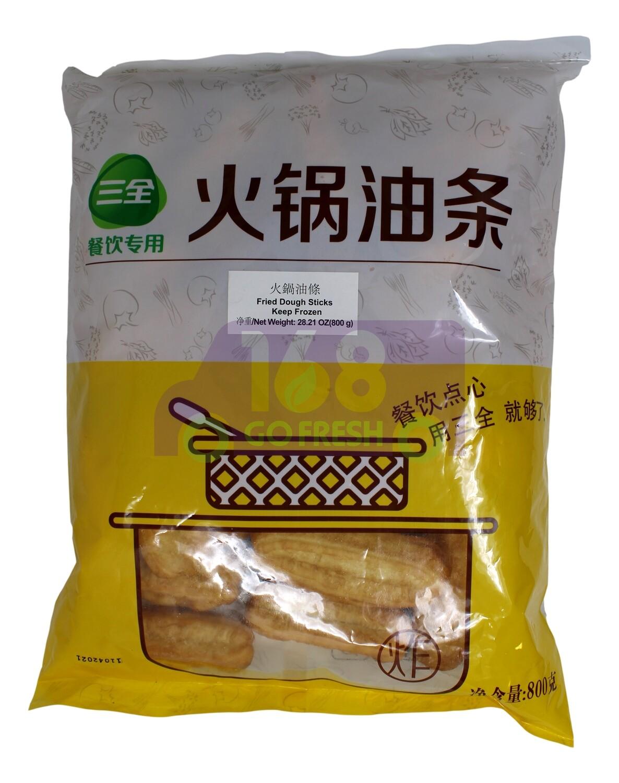 Fried Dough Sticks 三全 火锅油条(小油条)(800G)