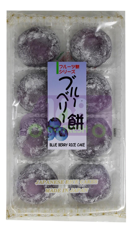 Japanese Sweet Rice Cake (Blueberry) 日本MIZUKI麻薯 大福饼 蓝莓味(7.4OZ )
