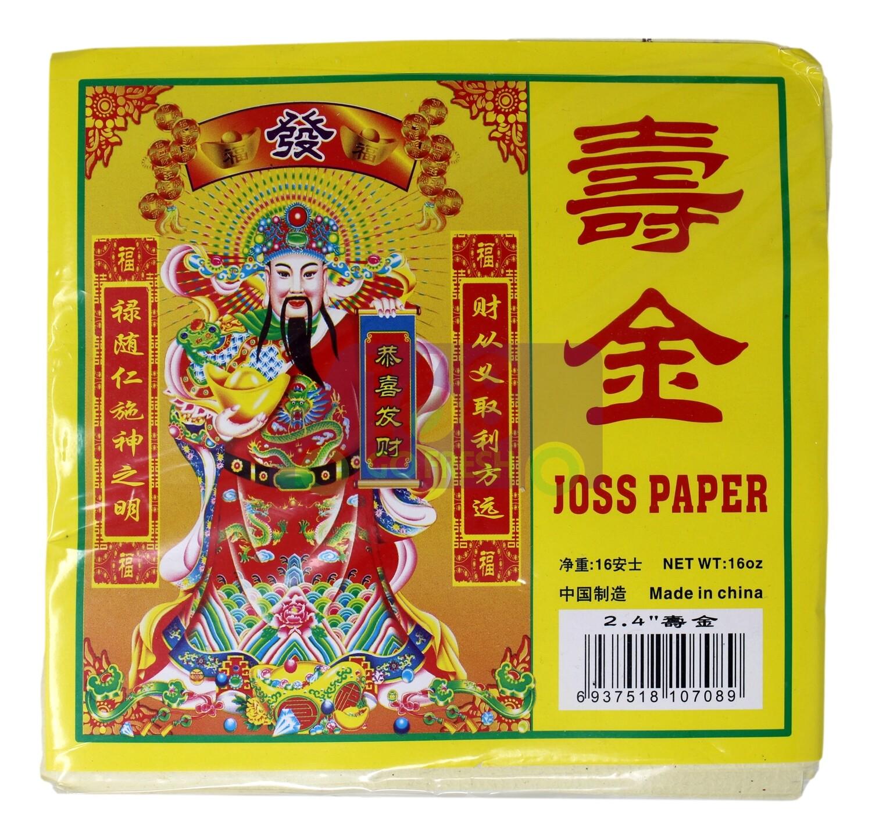 "JOSS PAPER  2.4""寿金(16OZ)6937518107089"