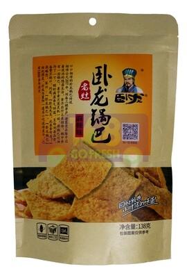WOOLONG RICE CRUST-SPICY FLV 卧龙锅巴 麻辣味(138G)