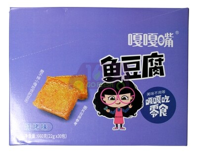 FISH TOFU 嘎嘎嘴 鱼豆腐 烧烤味(660G)