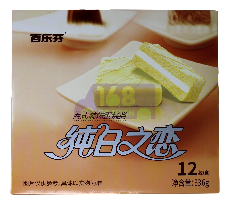BAILEFEN CHEESE CAKE 百乐芬 纯白之恋蛋糕(336G)