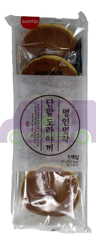 SAMLIPBAKED RED BEAN CAKE  韩国 红豆馅铜锣烧(蛋糕)  300G