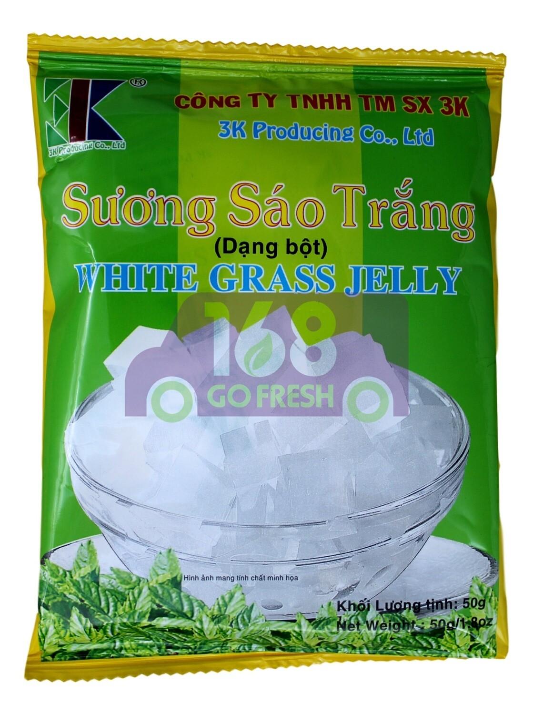 WHITE GRASS JELLY 白凉粉粉(50G)