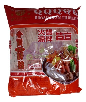 HEHUAN BROAD BEAN THREADS 合欢 宽条粉丝(300G)
