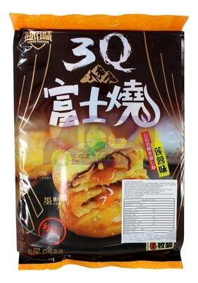 WHEAT FLOUR CAKE LOTUA SEED PASTE 超佰味 3Q 富士烧 莲蓉味 (6枚装)