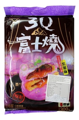 WHEAT FLOUR CAKE YAM 超佰味 3Q 富士烧 紫薯味 (6枚装)