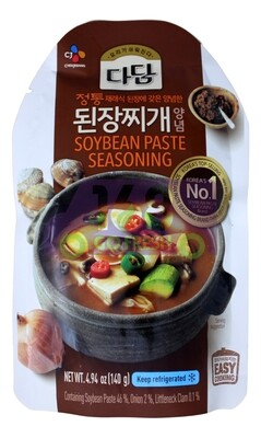CJ SOYBEAN PASTE SEASONING 韩国 CJ 黄豆大酱炖豆腐汤底(140G)807176710661