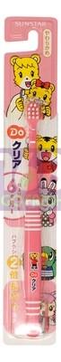 SUNSTAR  ORA2  Kids Toothbrush (6M-1Year Old) -Pink 1ea 日本巧虎幼儿耐用软毛牙刷(6月-1岁)-粉红  1个