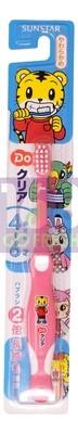 SUNSTAR  ORA2  Kids Toothbrush (4-6Year Old)-Pink 1ea 日本巧虎儿童耐用软毛牙刷(4岁-6岁)--粉红  1个