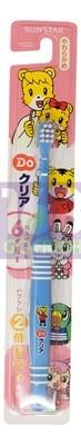 SUNSTAR  ORA2  Kids Toothbrush (6M-1Year Old) -Blue 1ea 日本巧虎幼儿耐用软毛牙刷(6月-1岁)-蓝色  1个