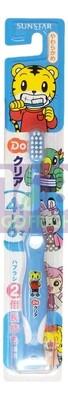 SUNSTAR  ORA2  Kids Toothbrush( 4-6 Year Old)-Blue 1ea 日本巧虎儿童耐用软毛牙刷(4岁-6岁)--粉蓝  1个