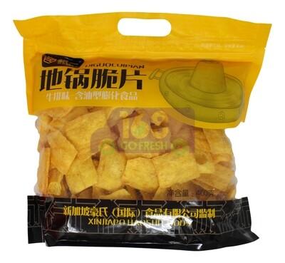 HAOYI DIGUOCUIPIAN CHIPS- BEEF 豪一 地锅脆片 牛排味(400G)