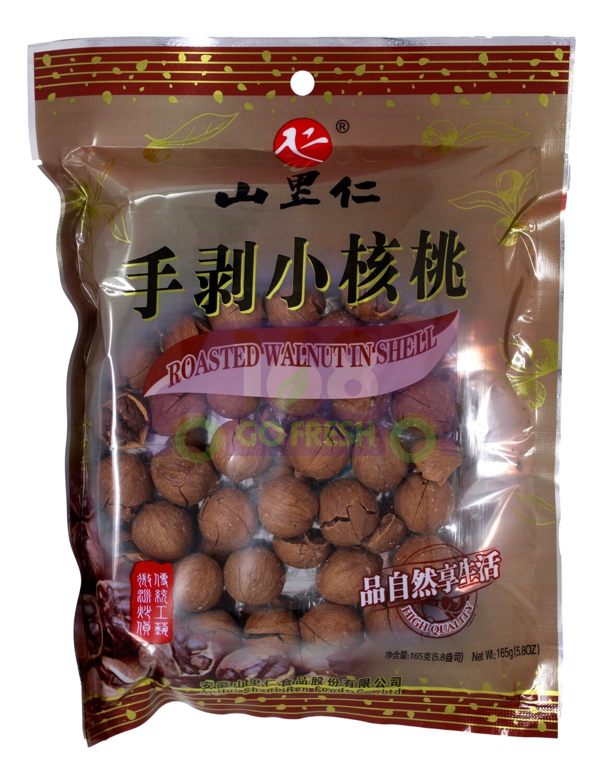 ROASTED WALNUT IN SHELL  山里人 手剥小核桃 原味(165G)