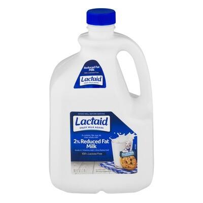 LACTAID - 2% MILKFAT REDUCED FAT 2%减脂牛奶(96 FL OZ)