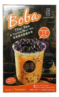 BOBA BLACK TEA LATTE & TAPIOCA PEARL MIX 急冻 皇家泰式茶拿铁珍珠(11.53OZ)