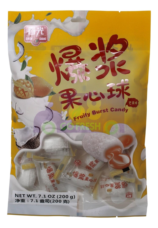 Fruity Burst Candy 春光 爆浆果心球 芒果味(7.1OZ)
