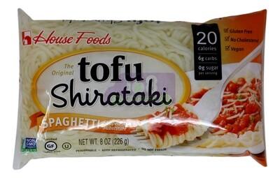 HOUSE FOODS TOFU SHIRATAKI - SPAGHETTI 日本 HOUSE FOODS 蒟蒻 魔芋意大利面条4105 (8OZ)