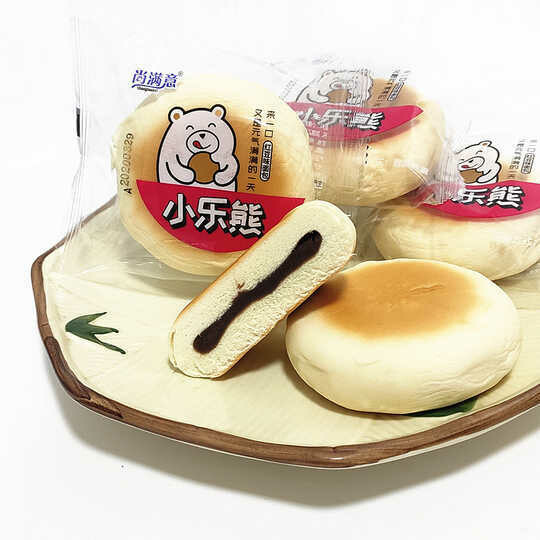 Red Bean Bun 小乐熊 红豆饼(6个装)