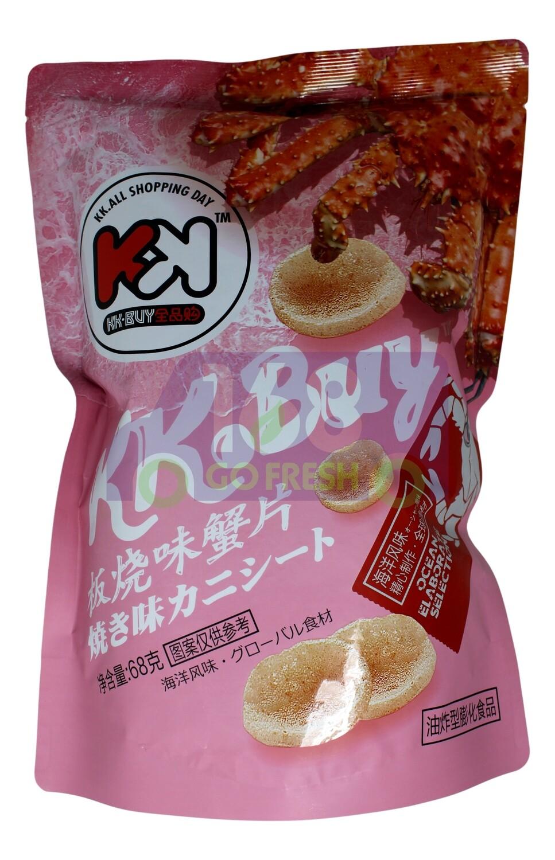 CRAB CHIPS 全品购 超友味 板烧味蟹片 68G