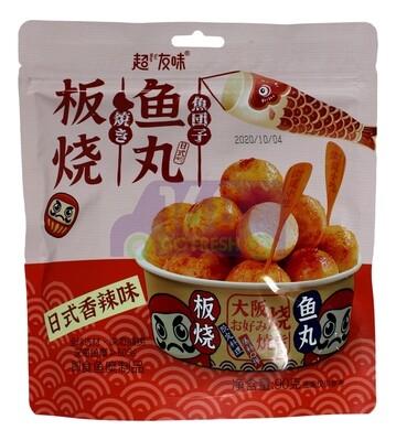 Fish Ball 超友味 板烧鱼丸 日式香辣味(90G)