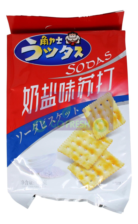 SODA CRACKS SALTINE 角力士奶盐味苏打饼干(408G)