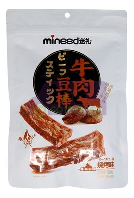VEGETARIAN BEEF FLAVOR STICK 迷礼 牛肉豆棒(烧烤味)120G