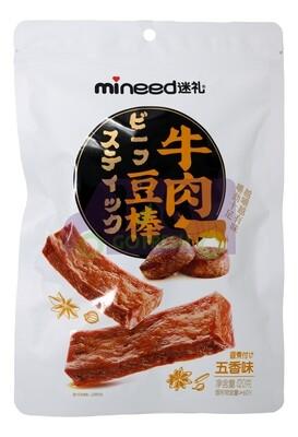 VEGETARIAN BEEF FLAVOR STICK 迷礼 牛肉豆棒(五香味)120G