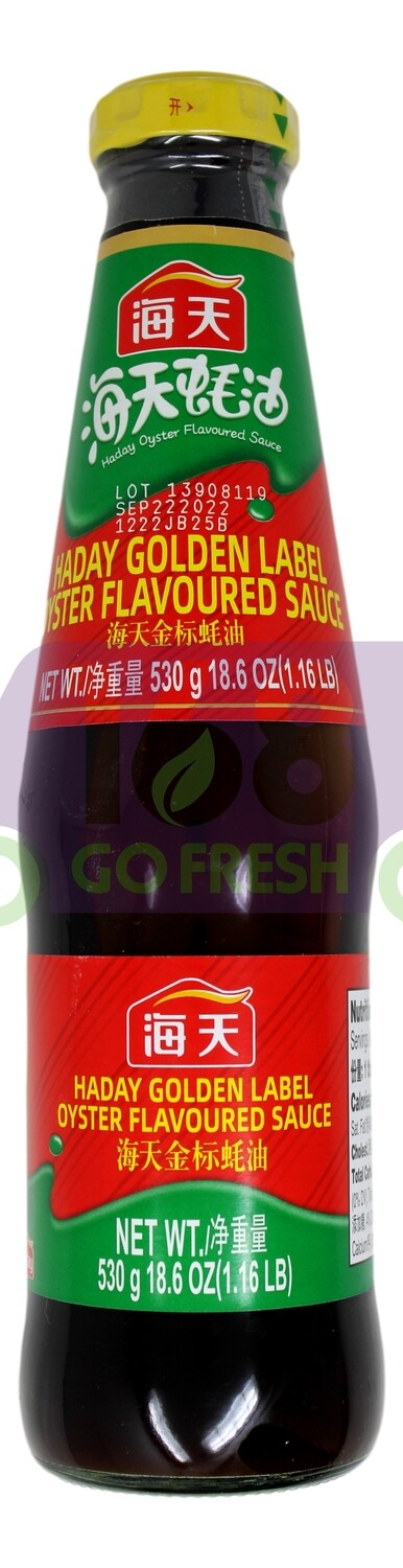 HADAY GOLDEN LABEL OYSTER FLAVOURED SACE 海天 金标蠔油(18.6OZ)
