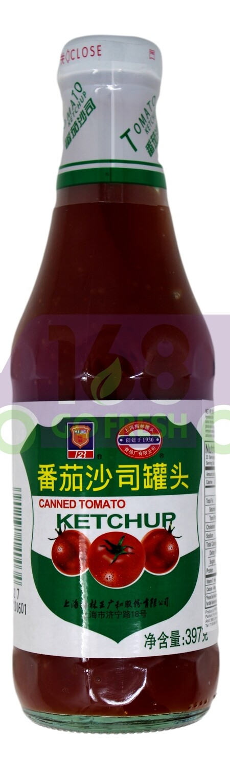 MALING CANNED TOMATO KETCHUP 梅林 番茄沙司罐头(酱) 397G
